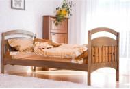 Кровать одноярусная деревянная Арина (Венгер)