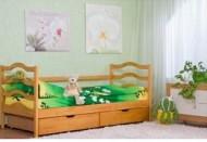 Кровать одноярусная деревянная София (Венгер)