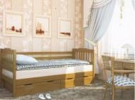 Кровать одноярусная деревянная Ева (Венгер)