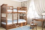 Кровать двухъярусная деревянная Максим (Венгер)