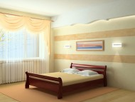 Кровать деревянная Диана (Венгер)