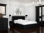 Мягкие кровати подиум с подъёмным механизмом