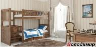Кровать двухъярусная деревянная Владимир (Венгер)