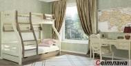 Кровать двухъярусная деревянная Светлана (Венгер)
