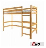 Кровать-чердак деревянная ЭКО