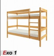 Кровать деревянная двухъярусная ЭКО-1