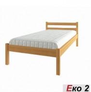 Кровать деревянная односпальная ЭКО-2