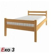 Кровать деревянная односпальная ЭКО-3